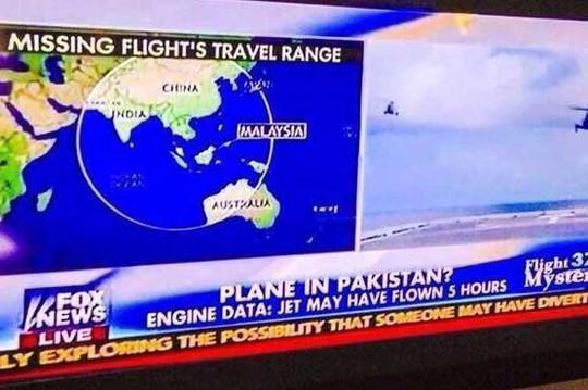 Pakistan bác tin máy bay ở nước này