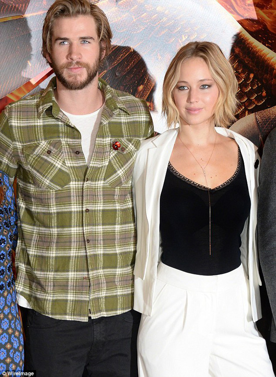 Jennifer Lawrence và Liam