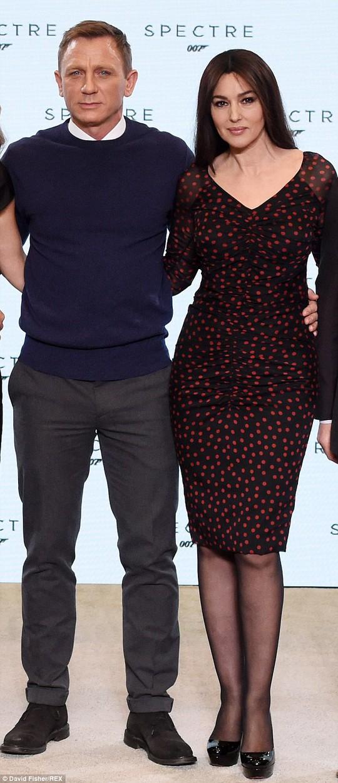 Monica và Daniel Craig