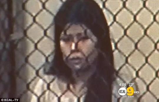Nghi phạm Zavala tại tòa ngày 23-1. Ảnh: KCAL-TV