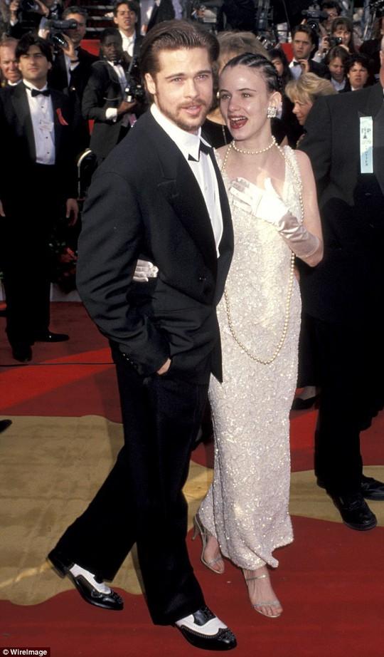 Brad Pitt và Juliette thuở còn bên nhau.