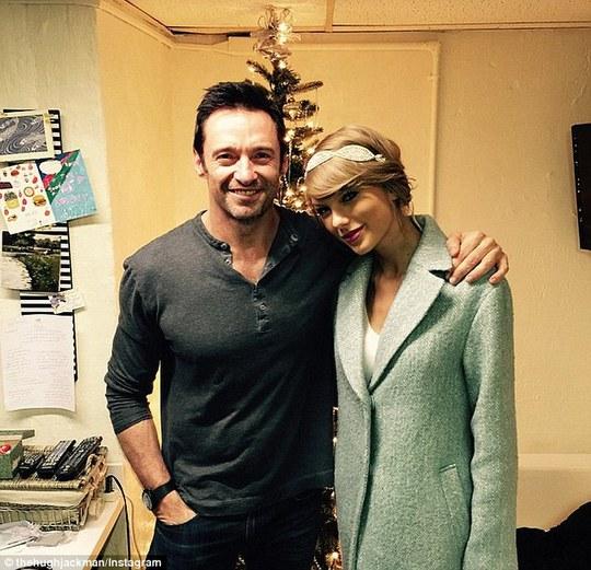 Hugh Jackman và Taylor Swift