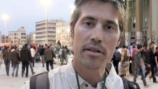 Nhà báo James Foley. Ảnh: AP
