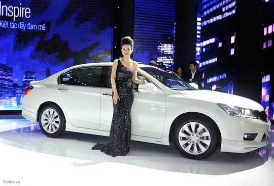 Cận cảnh xe gần 1,5 tỉ đồng của Honda vừa ra mắt