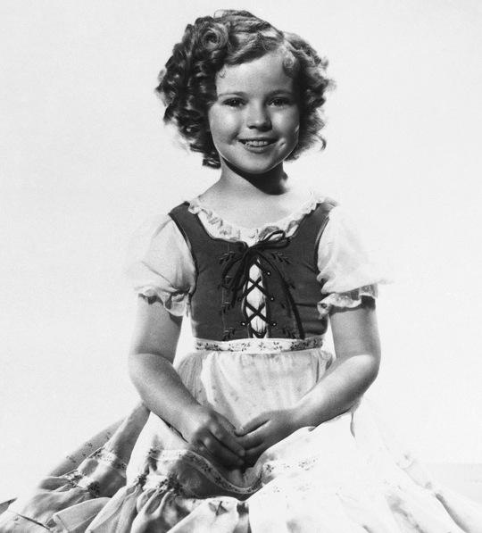 Shirley Temple lúc nhỏ