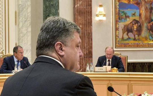Nga và Ukraine vẫn giằng co tại hội nghị ở Belarus. Ảnh: Reuters