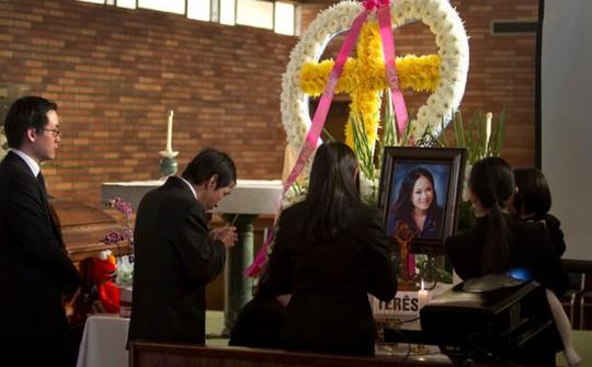 Tang lễ của Kim Pham diễn ra hôm 28-1. Ảnh: Los Angeles Times