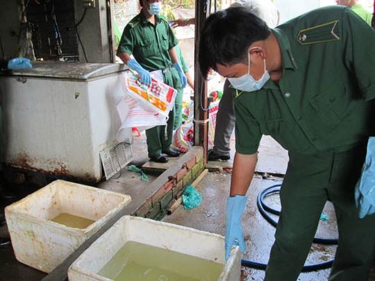 Dung dịch ngâm chứa hóa chất tẩy trắng