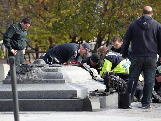 1 trong 2 binh sĩ Canada bị thành viên IS bắn chết ngày 22-10-2014. Ảnh: AP