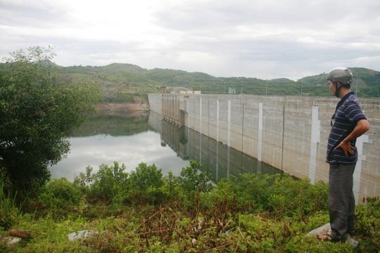 Khu vực thủy điện Sông Tranh 2, nơi thường xuyên xảy ra động đất khiến người dân lo lắng