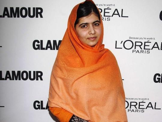 Thiếu nữ 17 tuổi người Pakistan Malala Yousafzai. Ảnh: Reuters