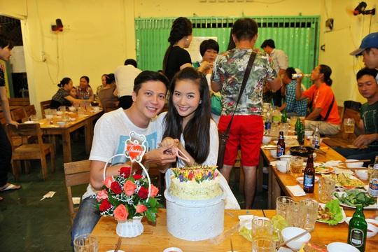 Diễn viên Hoàng Anh cùng với Phan Như Thảo