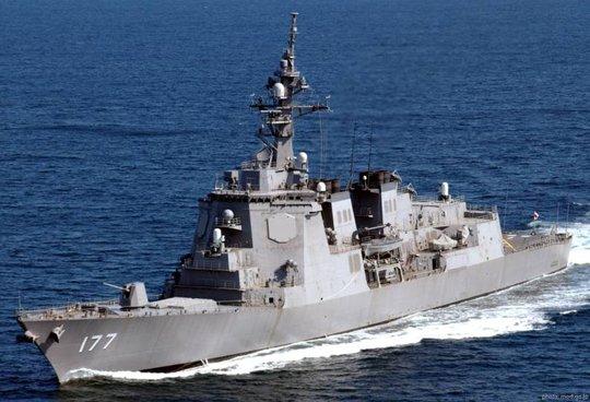 Khu trục hạm lớp Atago. Ảnh: Sea Forces
