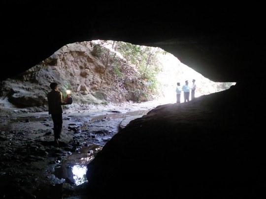 Sập hang động cổ Bildwar khiến 8 người thiệt mạng. Ảnh: Panoramio