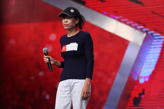 Dù không đi tiếp nhưng chị Nguyễn Thị Thơi vẫn được đánh giá cao về tinh thần chiến thắng bệnh tật