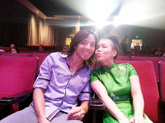 Vợ chồng Việt Hương