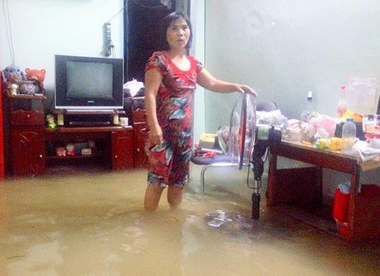 Nhiều ngơi nhà ở tổ 1 và 2, KP7, phường Thống Nhất