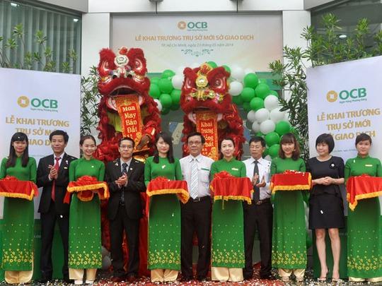 Hình ảnh tại lễ khai trương trụ sở mới của OCB