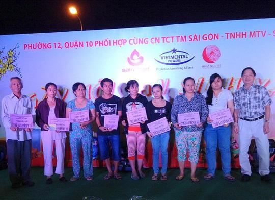 """Ấm áp cùng Ngày hội """"An sinh xã hội"""" tại Satramart - siêu thị Sài Gòn"""