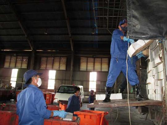 Điểm đến của xe thịt bò quá hạn là bãi rác Đông Thạnh (Hóc Môn). Hàng sẽ được tiêu hủy theo phương pháp đốt nhiệt.