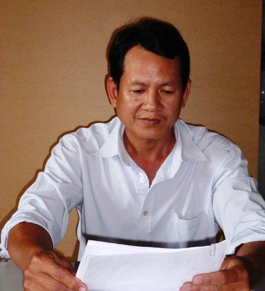 Anh Vũ Văn Thanh trình bày bức xúc của mình