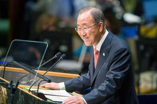 Tổng Thư ký Liên Hiệp Quốc Ban Ki-moon. Ảnh: UN Photo
