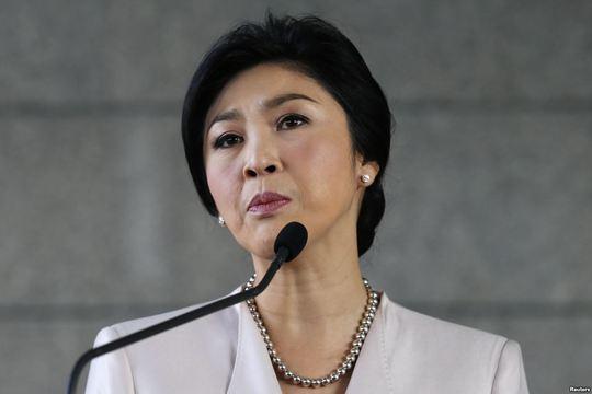 """Bà Yingluck đang ở một """"ngôi nhà an toàn"""" tại một địa điểm không rõ ở Bangkok."""