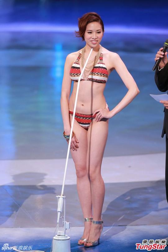 Ngắm nhan sắc tân Hoa hậu Hồng Kông