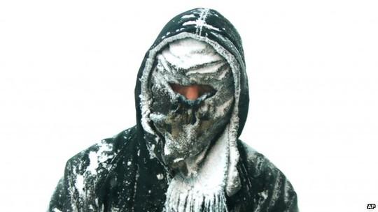 Trùm kín mặt chống lạnh
