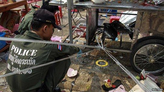 Tình trạng bạo động ở Thái Lan vẫn tiếp diễn