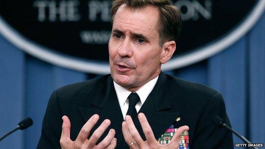 Chuẩn Đô đốc John Kirby John lên án hành động của phi công Trung Quốc