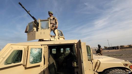 Khoảng 1.500 quân sẽ được gửi đến Iraq. Ảnh: AP