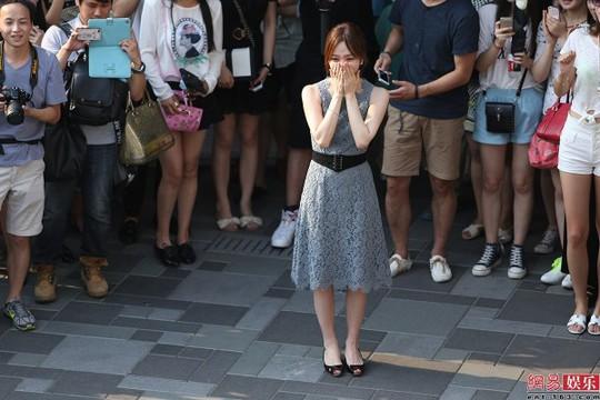 Chae Rim xúc động