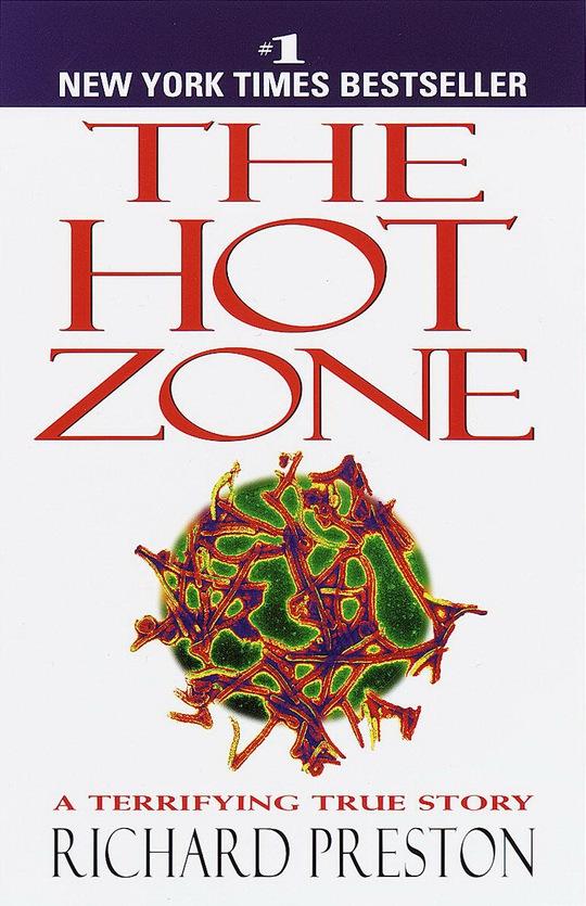 Bìa quyển sách The hot zone.Nguồn: Amazon