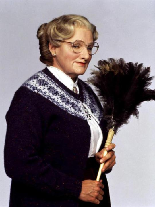 Robin trong Mrs. Doubtfire