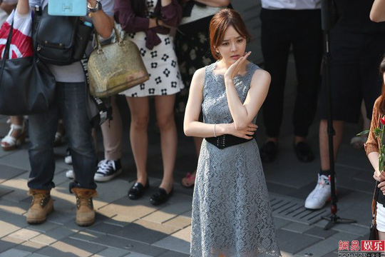 Nữ diễn viên Chae Rim