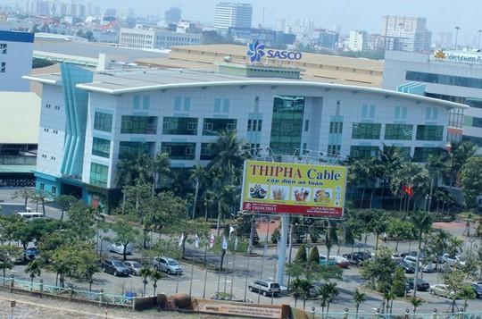 Trụ sở của Sasco nằm trong sân bay Tân Sơn Nhất - Ảnh: Saigontimes
