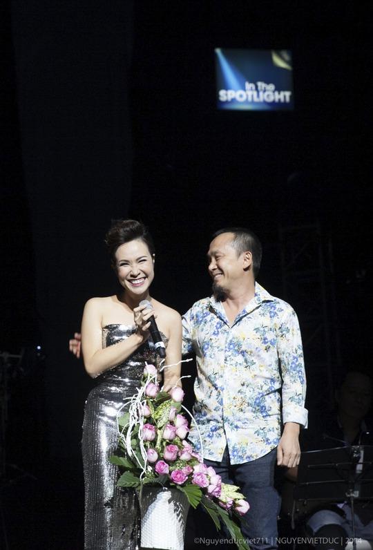 Uyên Linh và nhạc sĩ Quốc Trung