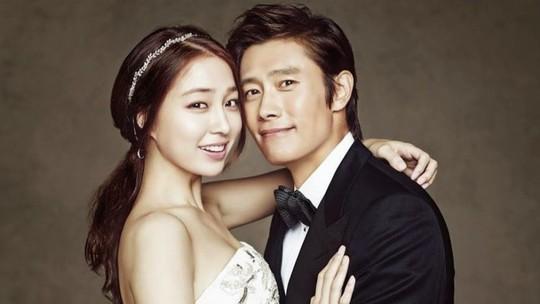 Lee Byung Hun và vợ