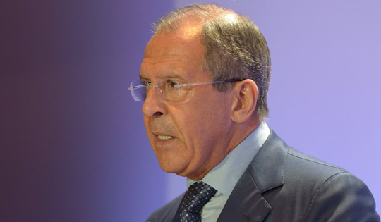 Ngoại trưởng Nga Sergei Lavrov. Ảnh: RIA Novosti