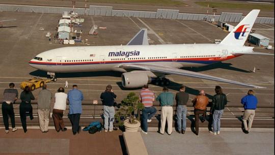 Một chiếc máy bay Boeing 777-200 của hãng hàng không Malaysia Airlines (như trong ảnh) chở 227 hành khách đã mất tích. Nguồn: AP