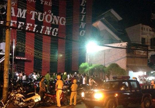 """Bar """"Cảm tưởng"""" trên đường Âu Cơ, phường 10, quận Tân Bình – TP HCM vẫn vi phạm hoạt động dù cơ quan chức năng đã kiểm tra tới lần… thứ 6."""