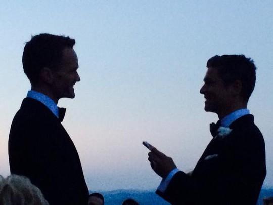 Neil Patrick Harris và David Burtka cưới