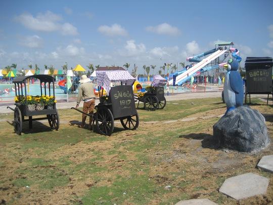 Khai trương khu vui chơi giải trí lớn nhất ĐBSCL