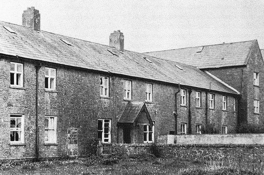 Ngôi nhà của những đứa trẻ ở Tuam, hạt Galway. Ảnh: Mirror