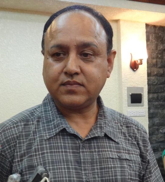 Ông Ramesh Khadka, Tiến sĩ, chuyên gia cao cấp của tổ chức ActionAid