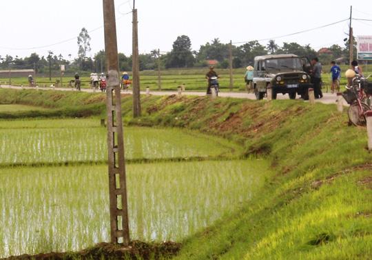 Hiện trường nơi 2 nhóm trai làng hỗn chiến khiến 3 người thương vong
