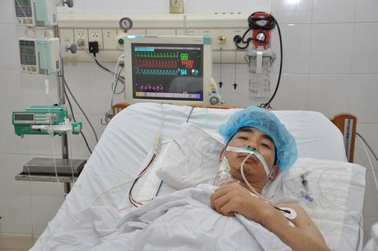 Bệnh nhân H. đã tỉnh táo sau ghép tạng