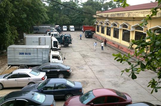 Trung tâm đăng kiểm xe cơi giới Thanh Hóa, nơi xảy ra sai phạm nghiêm trọng