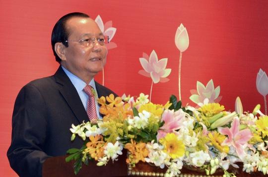 Ông Lê Thanh Hải, Ủy viên Bộ Chính trị, Bí thư Thành ủy TP HCM  ảnh: TẤN THẠNH